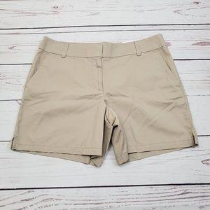 "NWT  Loft 6"" Shorts Tan Size 12"